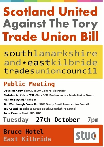 Kill The Trade Union Bill Public Meeting