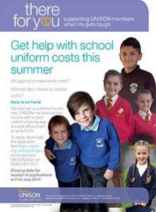 School Uniform Grants 2017