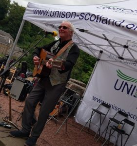 Alastair McDonald at New Lanark Family Fun Day
