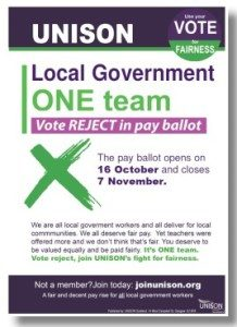 Vote Reject in pay ballot